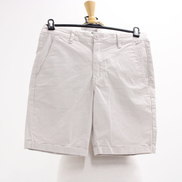STAPLE SUPERIOR Staple Chino Shorts Size 34 Silver Cloud Shorts #405