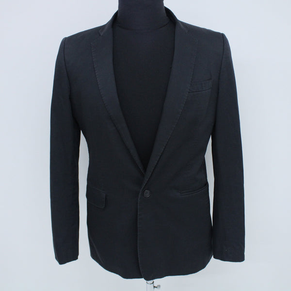 ELSOM Navy Smart Casual Blue Blazer 100% Cotton Size 50 #129