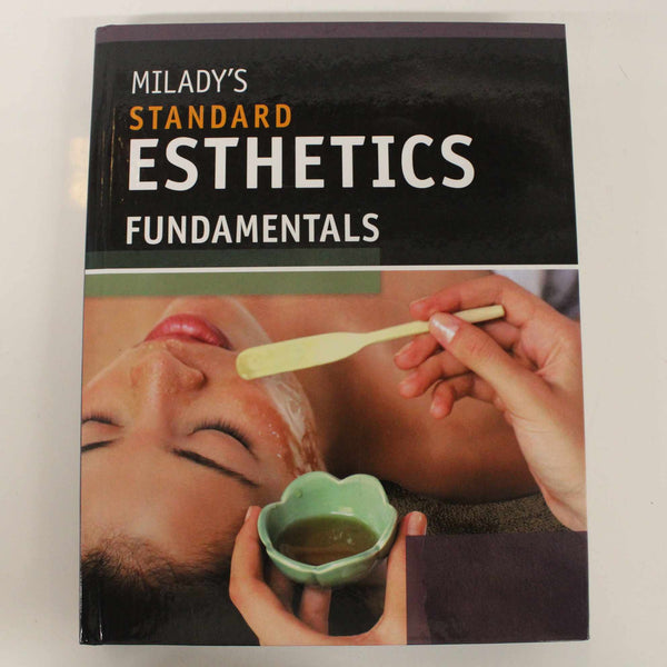 """Milady's Standard Esthetics Fundamentals"" Professional Skin Care Textbook #416"