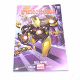 Iron Man - Believe comic book Marvel April 3rd 2013 #405