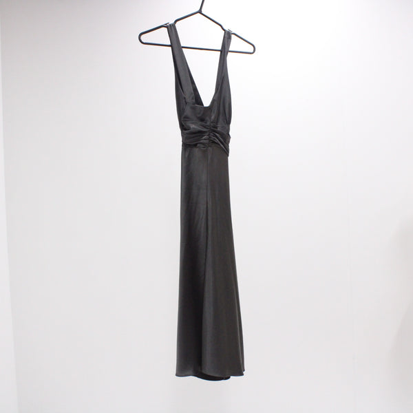 FORCAST Womens Size S Polyester Halter A-Line Dress w Crisscross Straps #405