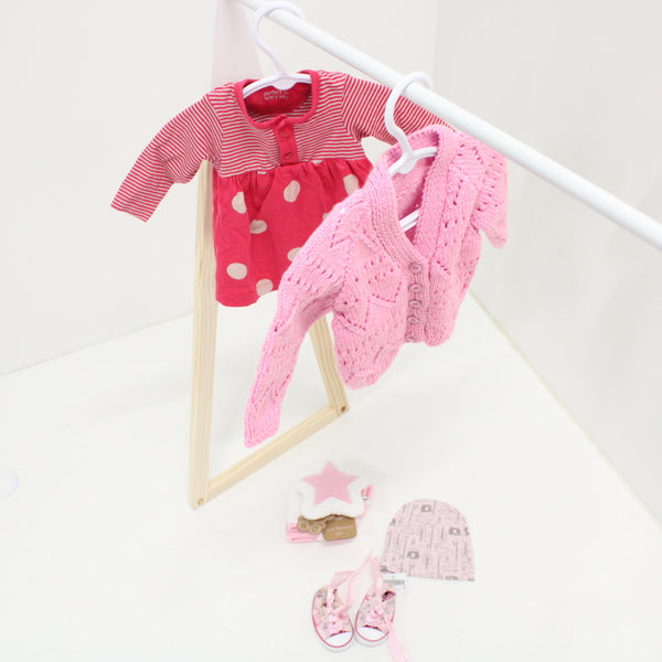 SET of Childrens Clothes GIRL 0-3 months Pink #974