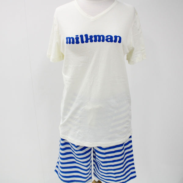 Peter Alexander Sleepwear Milkman T-Shirt and Shorts Womens Pajamas #416