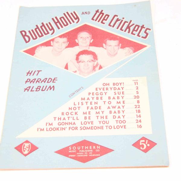 Buddy Holly and the Crickets Songbook Hit #15728