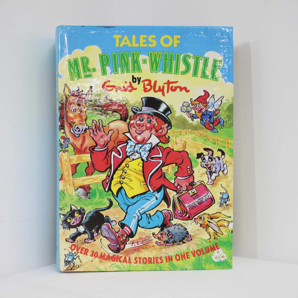 Enid Blyton Tales Of Mr Pink Whistle Book #458