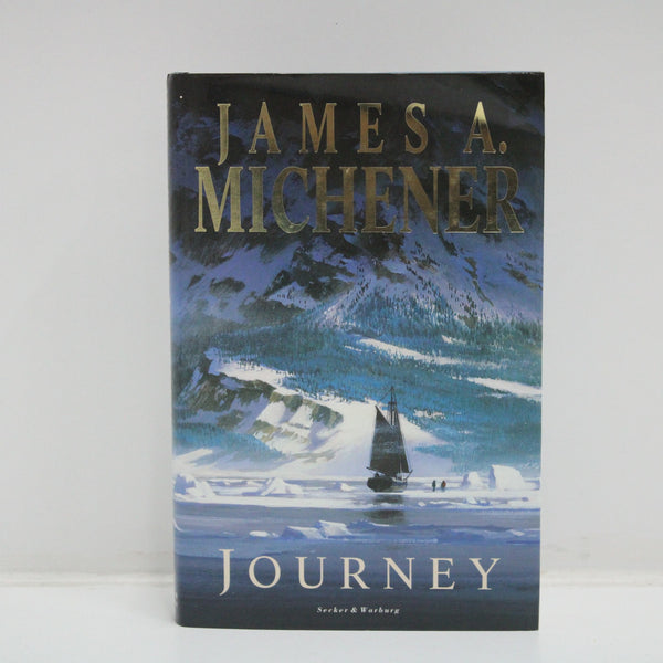 James A. Michener Journey Book Hard Cover Edition 1988 Thriller #405