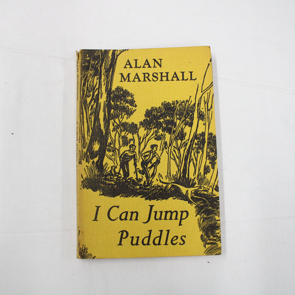 I Can Jump Puddles by Alan Marshall Book Australian Children's Classic #109