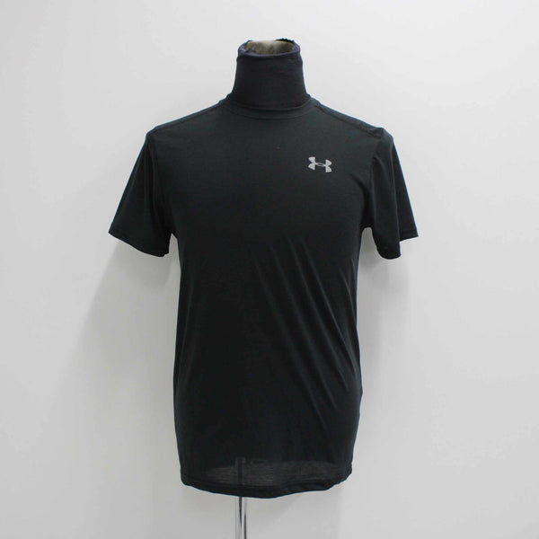Under Armour Mens Black Running Top Tshirt Activewear Size S Small #410