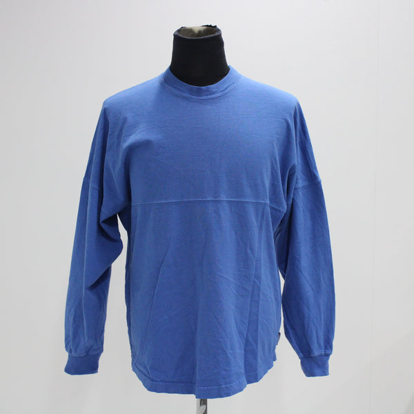 Mens Spirit Jersey Blue Turtle Bay North Shore Long Sleeve Shirt Small  #403