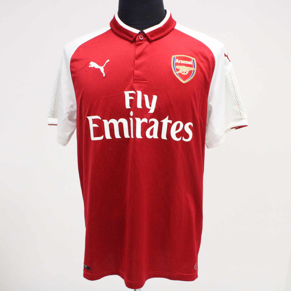PUMA Unisex Size L Arsenal FC 2018 / 19 Home Jersey Red #129