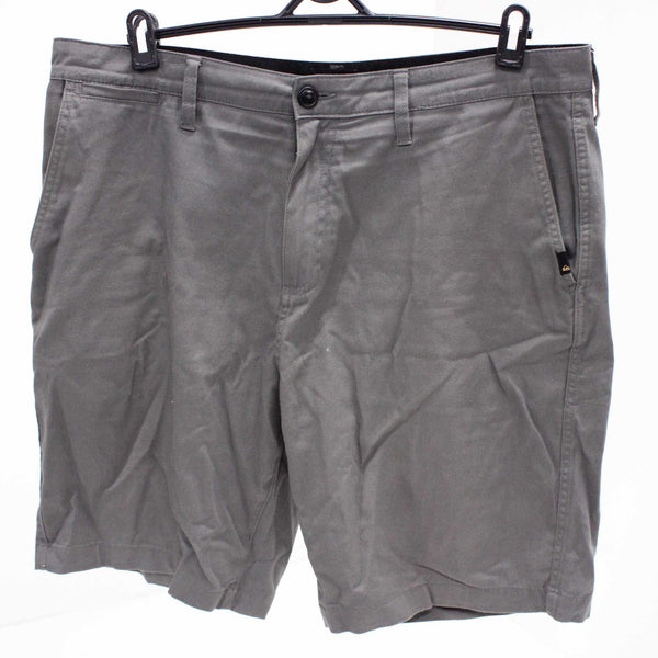 Quiksilver Men's Gray Cotton Blend Casual Shorts Size 36 #129