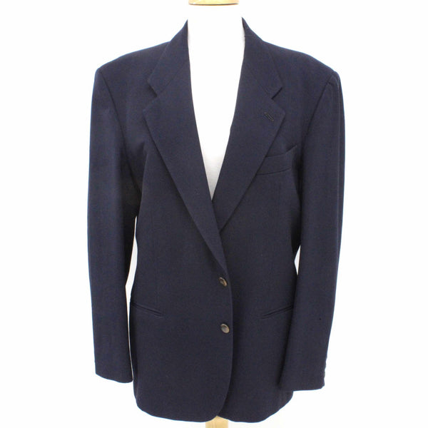 Country Road Navy Wool Mens Jacket Size 40 #209