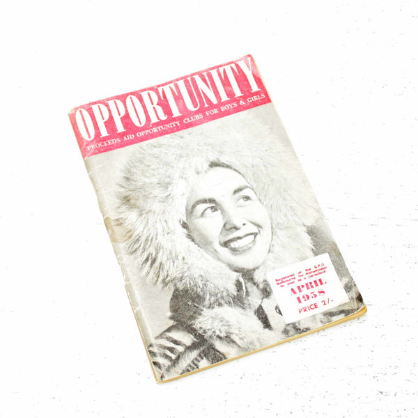 Opportunity Proceeds AID Opportunity Clubs for Boys & Girls 1958 Australia #416