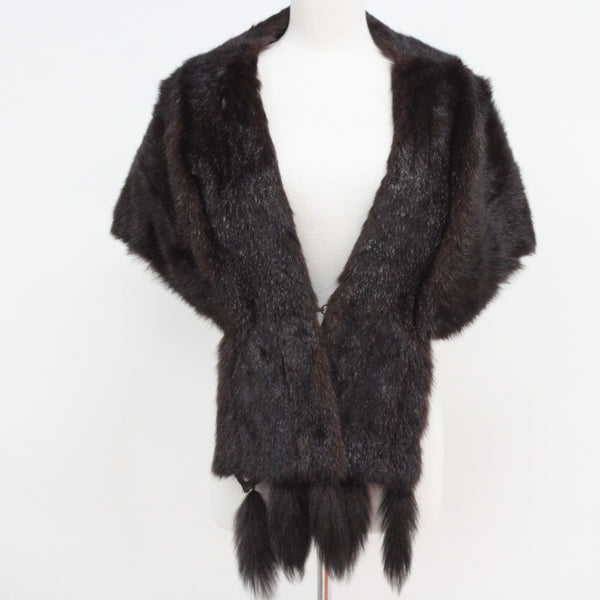 Stephen Dattner Fur Stole Fully Lined Shoulder Wrap #940