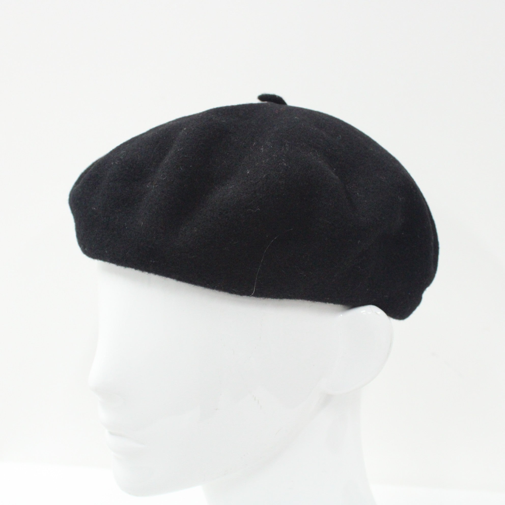 b5bffea59 Kangol Black Beret (Size M) 100% Wool Designed In Britain #452