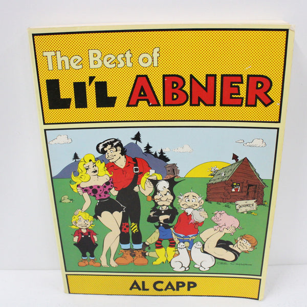 The Best Of Li'l Abner Comic Strip Book By Al Capp 1st Edition 1978 #454