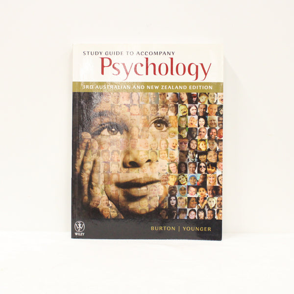 """Psychology"" Textbook and Study Guide AUS/NZ 3rd Edition by Lorelle Burton #416"