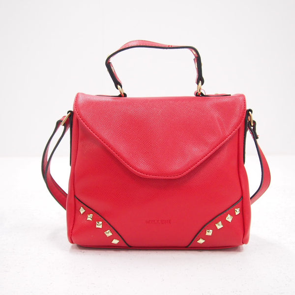 Milleni Small Satchel Bag Shoulder Bag Handbag - Paprika (PV 1953 PRKA)