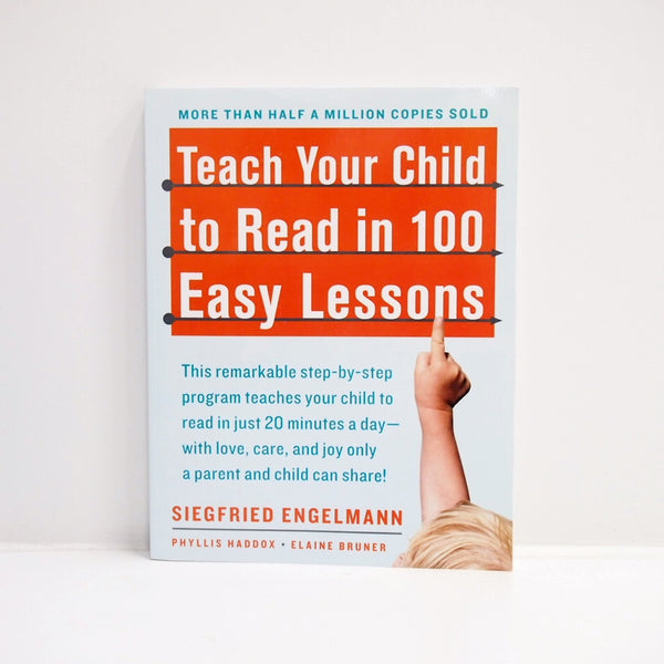 Teach Your Child to Read in 100 Easy Lessons Book Siegfried Engelmann #416