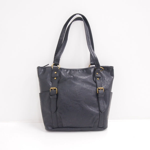 Montini Tote Shoulder Bag Handbag - Black (SP 10974 BLK)