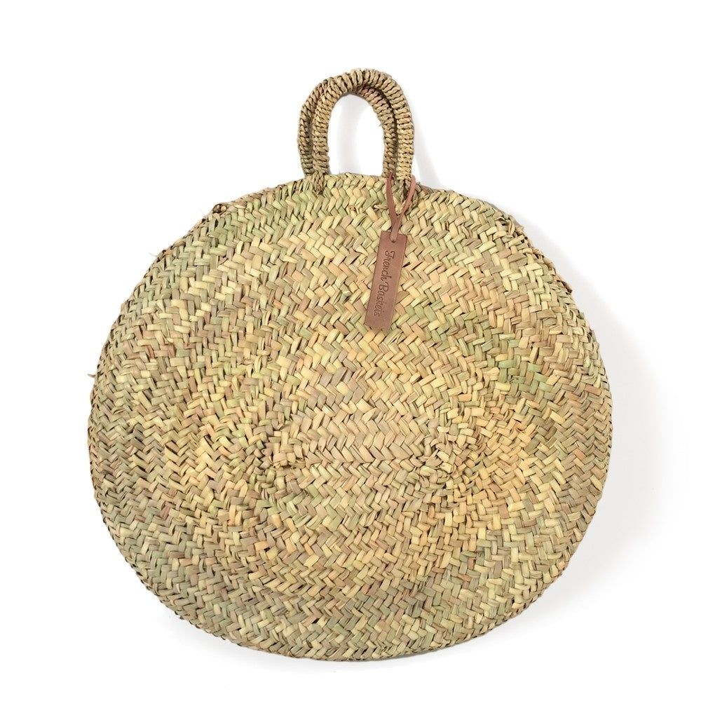 French Basket - Round Large Wicker Basket