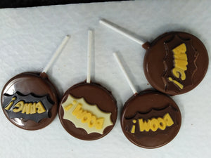 Chocolate Lollipops - Boom, Bang, Wow!