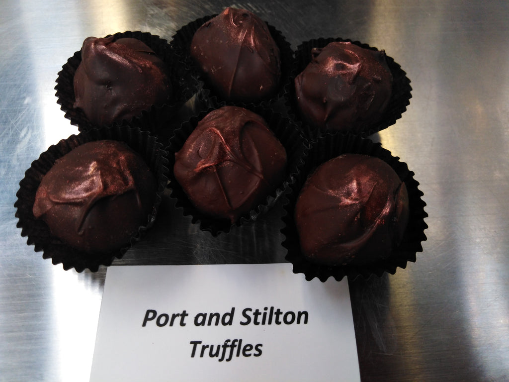 Port and Stilton Truffles
