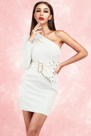 Alexa One Shoulder Mini Dress