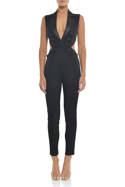 BH5827 Sex Black Jumpsuite
