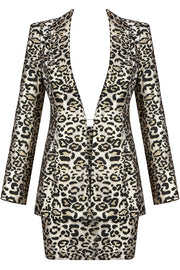 Bertha Leopard Two-Piece
