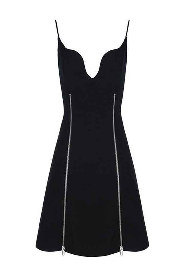 DH7020 Bandage Dress-Black
