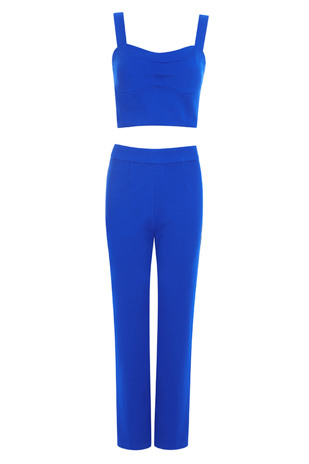 Luna Two Piece Set-Blue