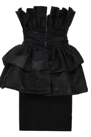 Bertha Ruffles Skirtsuit 2-Piece