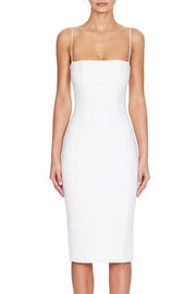 Spaghetti Strap Midi Bandage Dress
