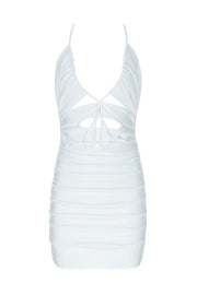 H5769 Bandage Dress- White