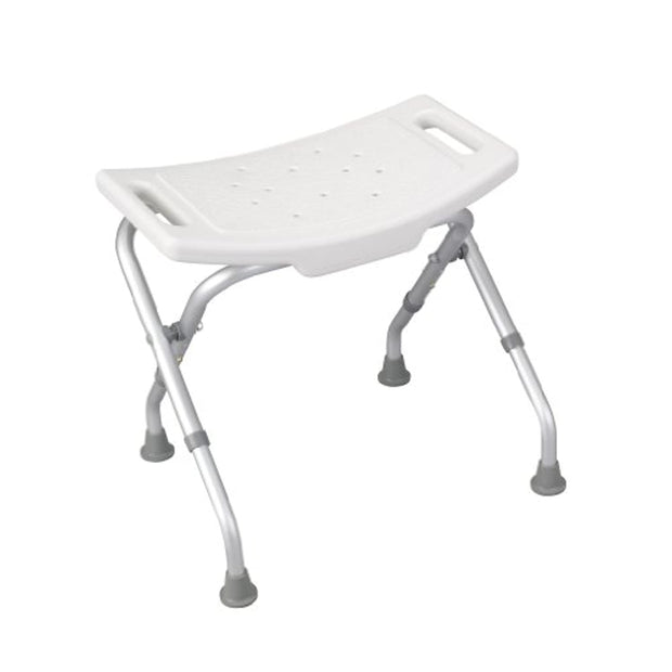 PETW  Deluxe Folding Bath Bench, White