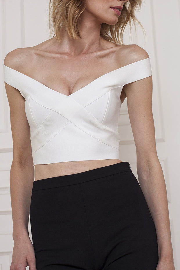 Sexy Wear to Work Bandage Top