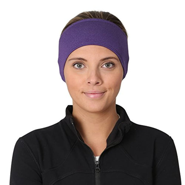 PETW Women's Ponytail Headband | Moisture Wicking Ear Band | The Power Running Headband