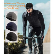 PETW 3 Pack Cooling Skull Cap Helmet Liner Sweat Wicking Cycling Running Hat for Men Women
