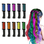 PETW Gifts for 4-13 Year Old Girls, Hair Chalk for Girls Makeup Gifts for Girls 4-13 Year Old Washable Temporary Hair Dye for Age 4-13 Girls Colorful Hairspray for Kids