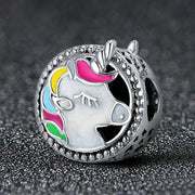 Unicorn Charm Sterling Silver