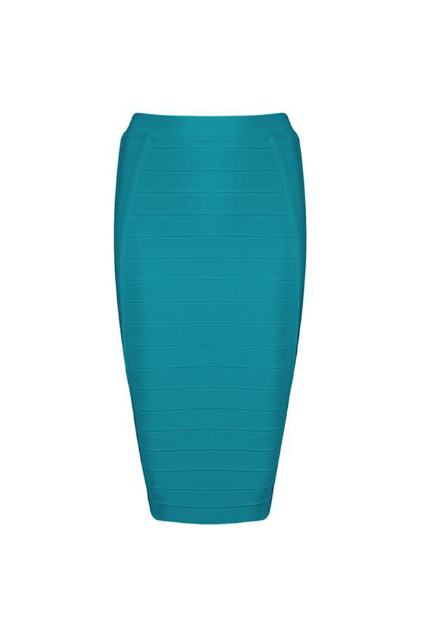 High Waist Bandage Bodycon Basic Midi skirt