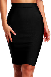 Slim Bandage Pencil Skirt Knee-Length