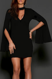 Diversion Dress-Black