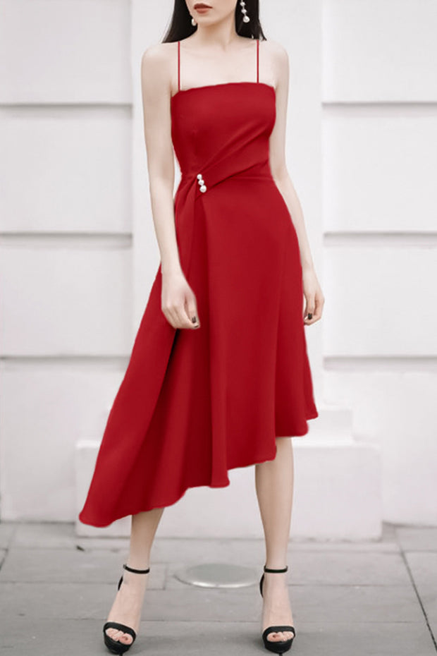 Strap Elegant Chic Dress- 5 Colors