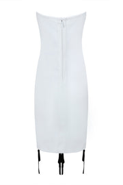 H5461 Bandage Dress- White