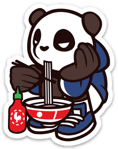 Pando the Squat God. Sticker - Noodles