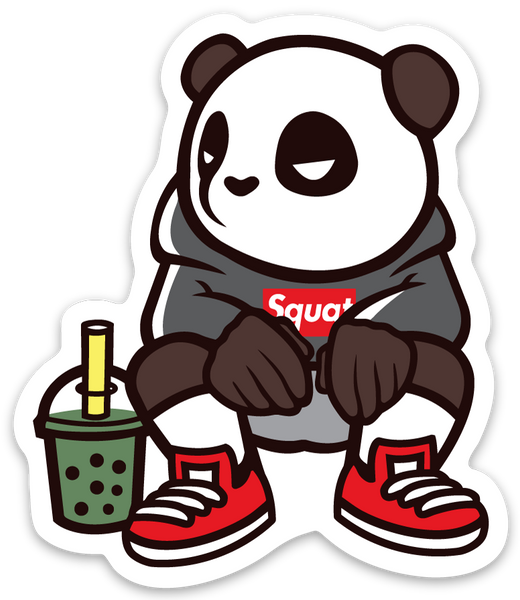 Pando the Squat God. Sticker - Boba