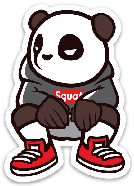 Pando the Squat God. Sticker - Hypebeast