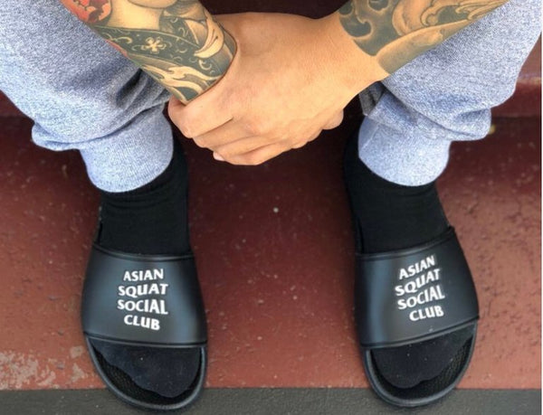 Asian Squat Social Club Slides